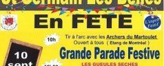 St Germain Les Belles en fête